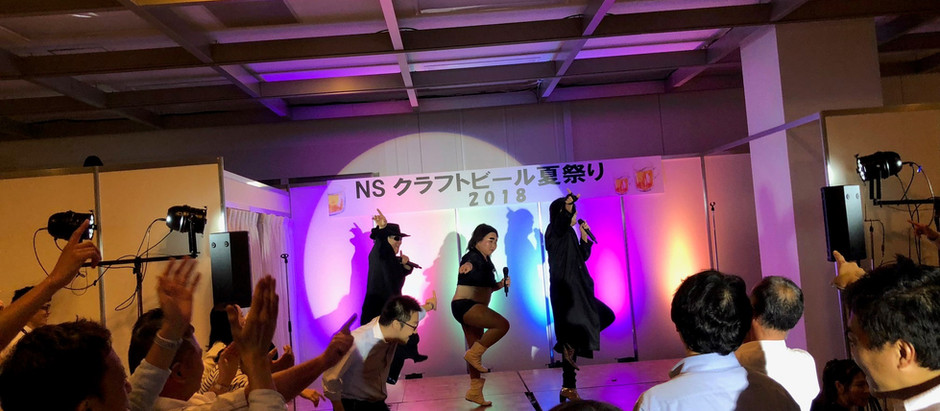 新宿NSビル夏祭り