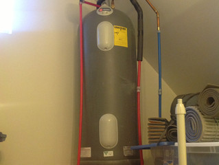 Why I Built a Solar Hot Water System