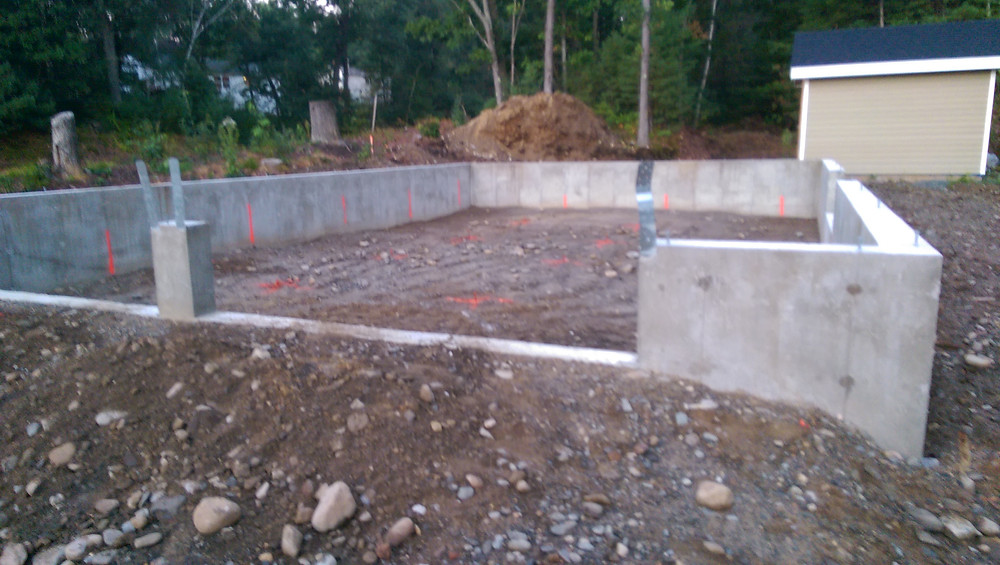 Foundation is Backfilled