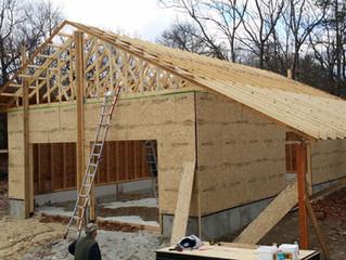 Framing the Super Insulated Garage Workshop
