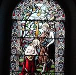 The Church has many beautiful windows