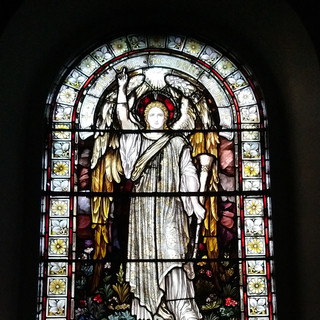 A beautiful piece of stained glass