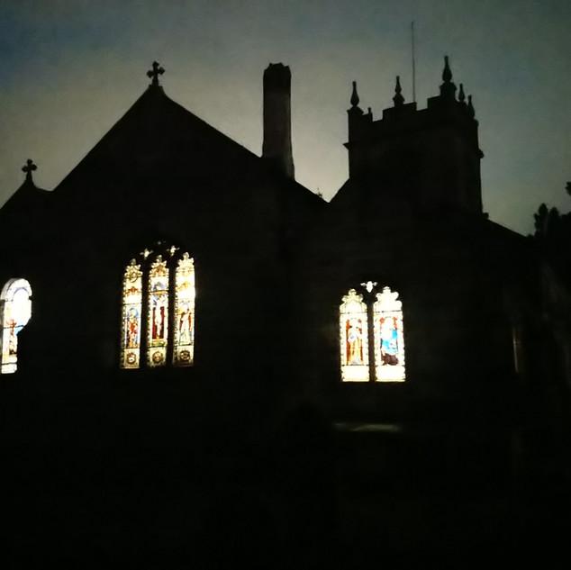 Evening activities in Church