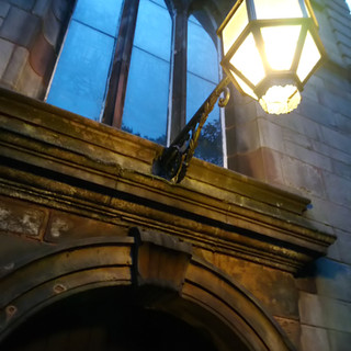 A welcoming light at St Michael's
