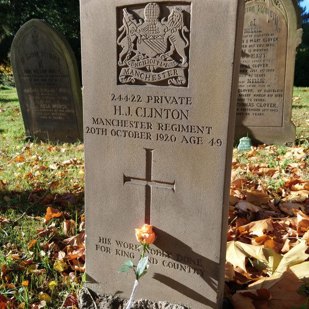 One of Commonweath War graves