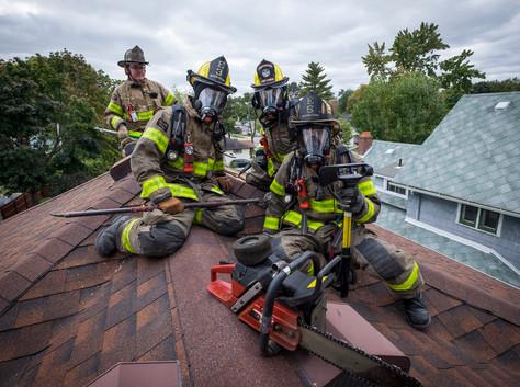 20181012_Port Huron firefighter training