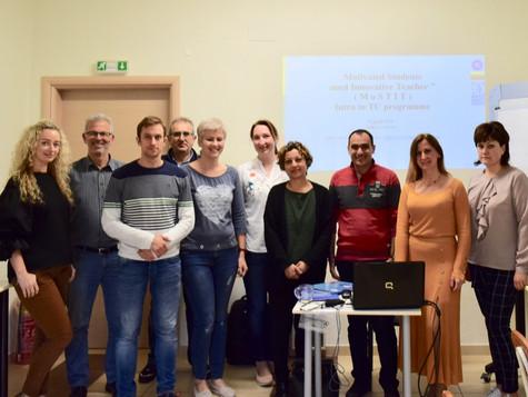 """Motivated Students need Innovative Teacher"" στο πλαίσιο του Erasmus+"
