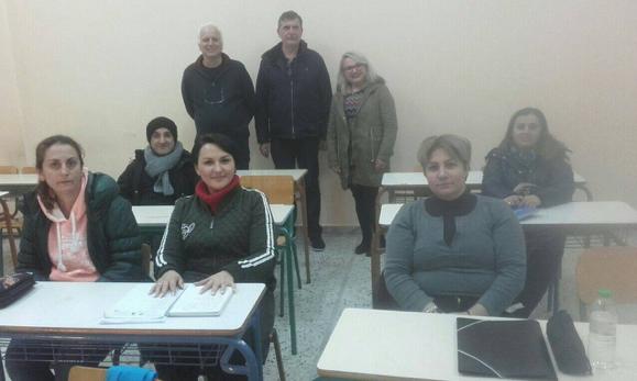 Υποστήριξη στην εκμάθηση ελληνικής γλώσσας σε αλλοδαπούς