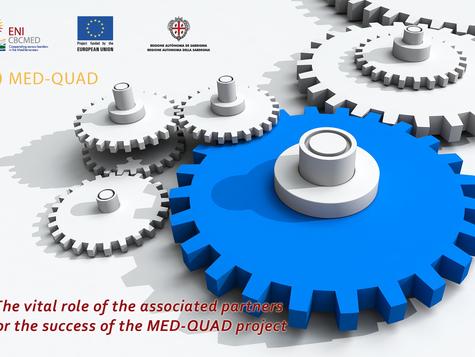 Οι υποστηρικτές εταίροι του έργουMED-QUAD αναπτύσσουν διακρατική συνεργασία στη Μεσόγειο.