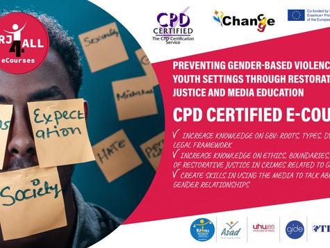 Πρόληψη της έμφυλης βίας στους νέους: διαθέσιμα δύο δωρεάν σεμινάρια στο πλαίσιο του Erasmus+.