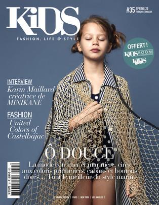 KIDS magazine n°35 - Ô Douce - Avril 2020