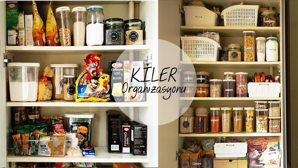 Mutfak Dolaplari Nasil Duzenlenir Part 2 I Mutfak Organizasyonu