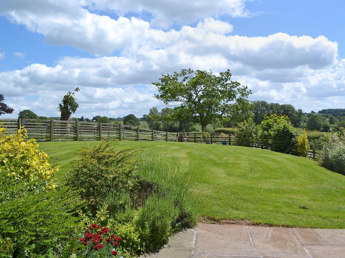 Secure garden & patio area