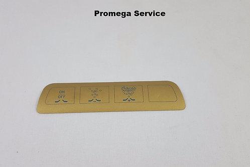 90610505 Sticker 132x32  spa goud Cleopatra
