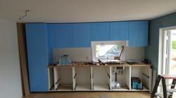 Ikea keuken lange wand opstelling