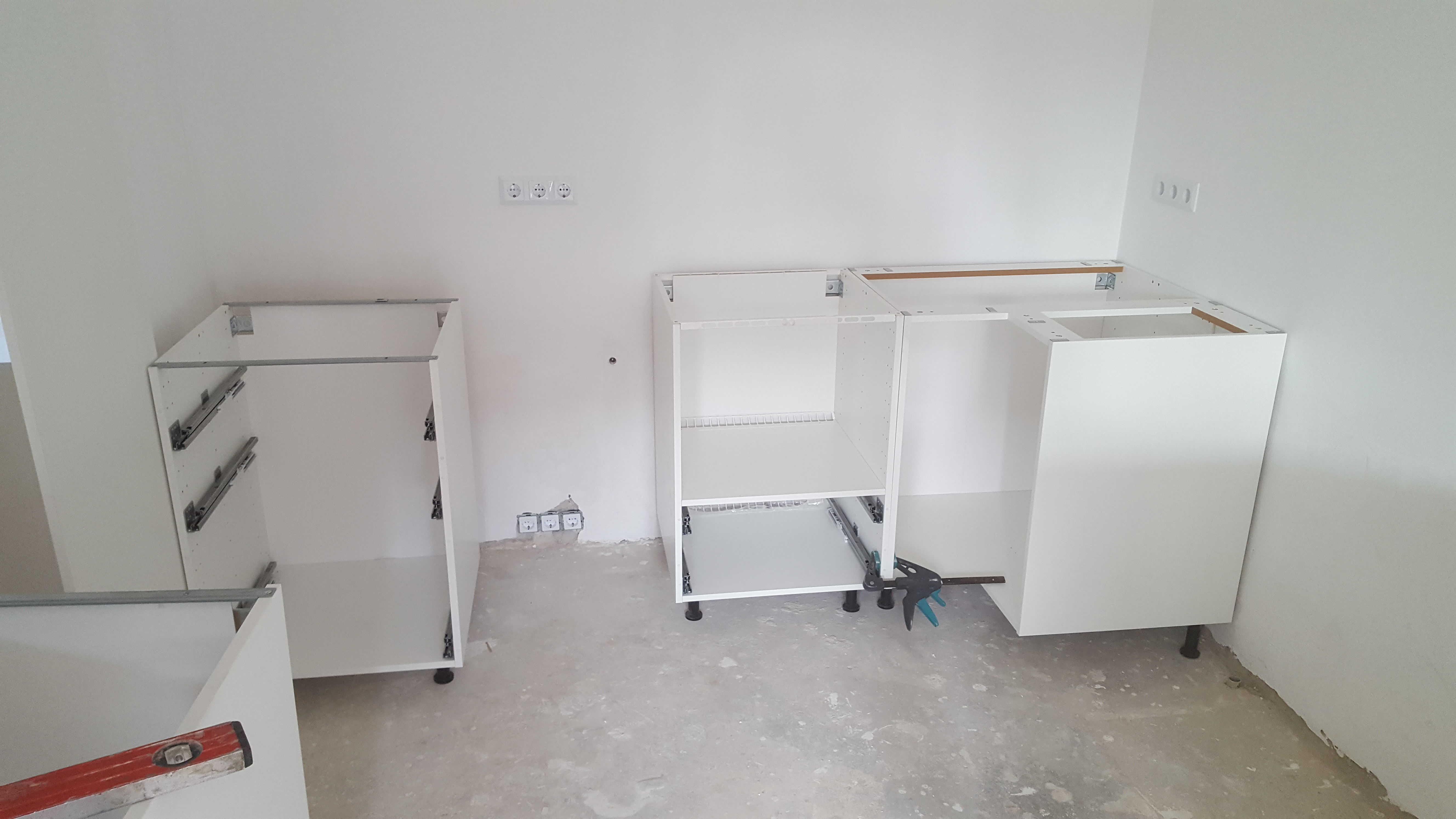 Ikea keuken hoekopstelling