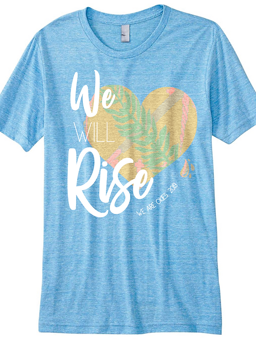 We Will Rise Oklahoma Relief T-shirt