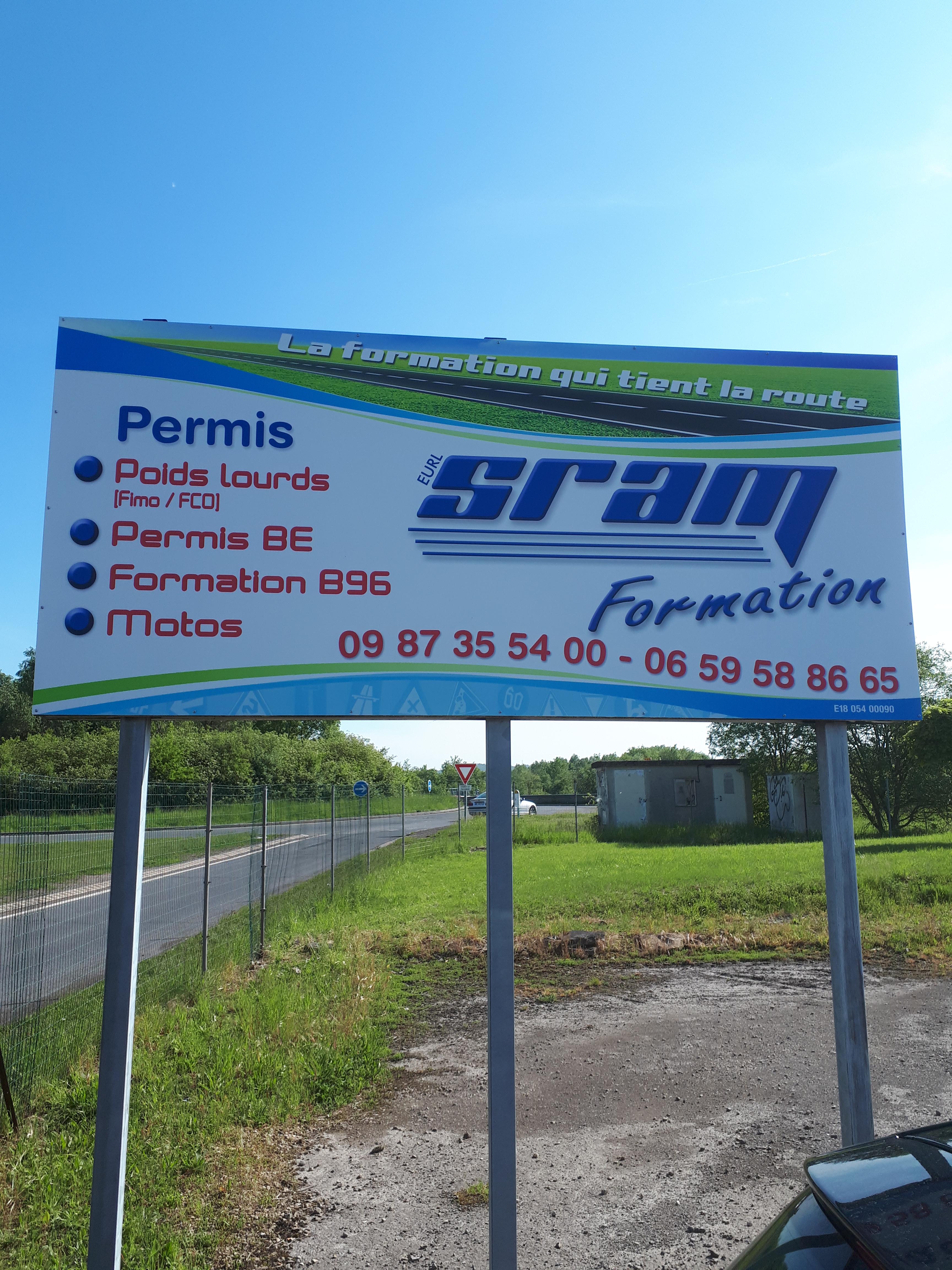 Panneau SRAM Formation