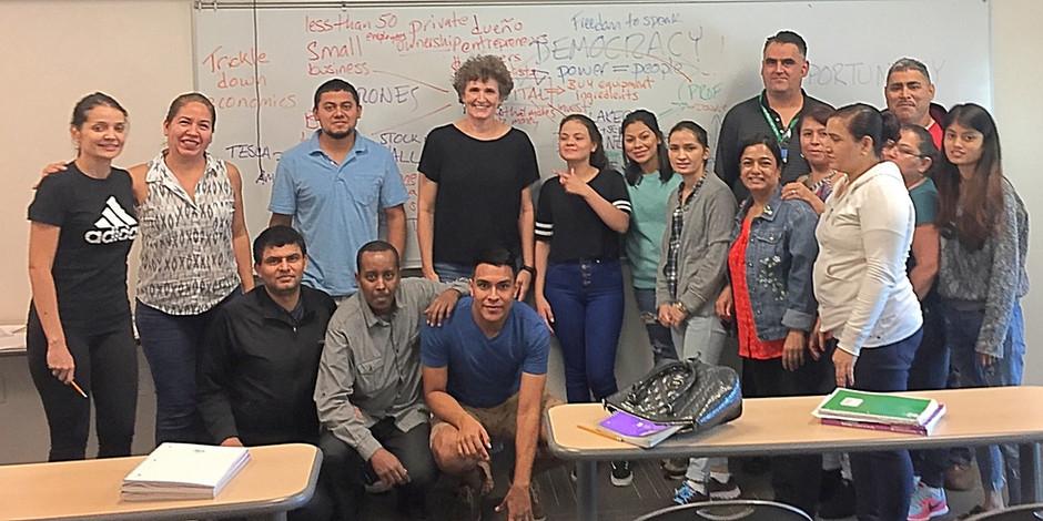 Talking Capital Globally @ Dallas County Community College