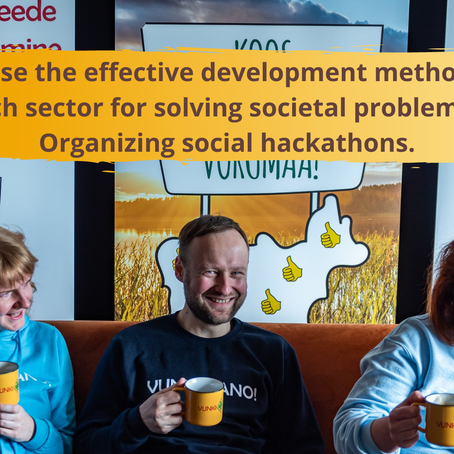 Guidelines for Social Hackathon events
