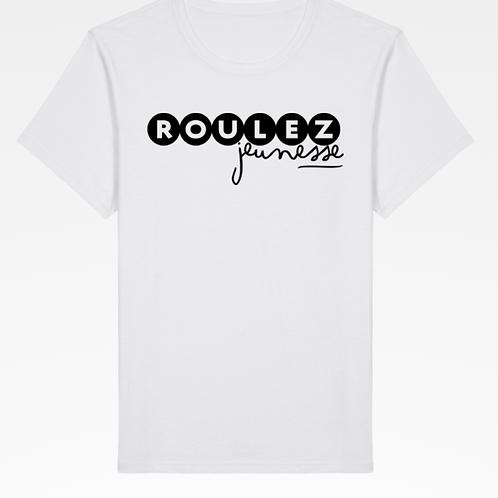 T-shirt - Blanc - Roulez Jeunesse