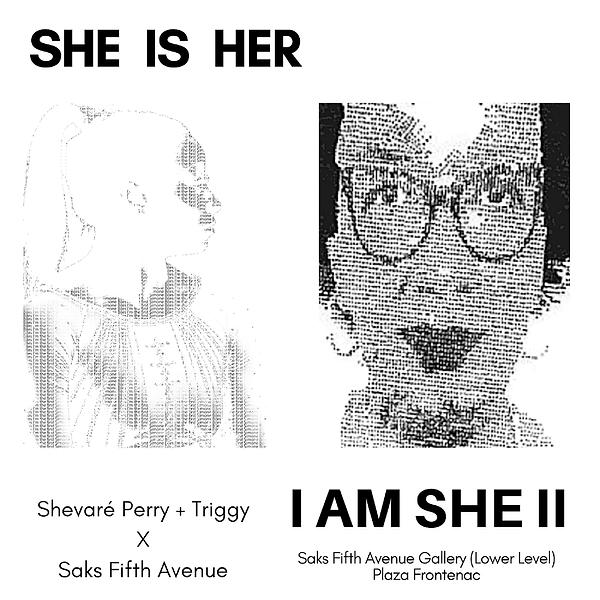 SHE IS HER, I AM SHE II
