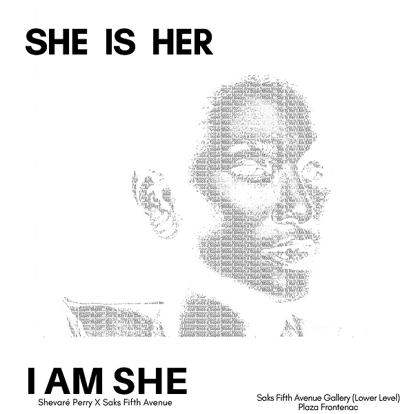 SHE IS HER I AM SHE