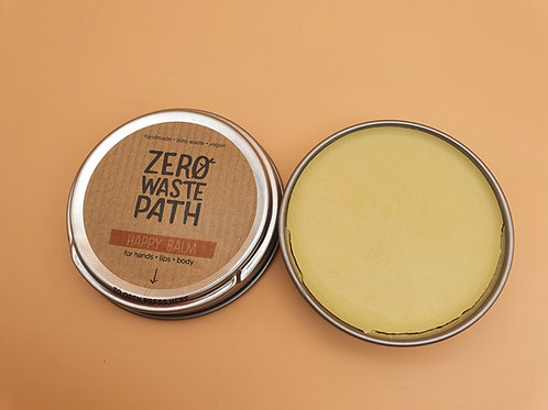 Happy Balm for Hands, Lips and Body, 40g - Zero Waste Path