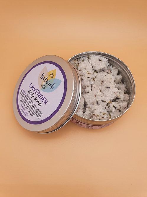 Lavender Body Scrub, 200g - The Natural Spa