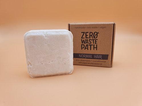 Normal Hair, 2-in-1 Shampoo & Conditioner 70g -Zero Waste Path