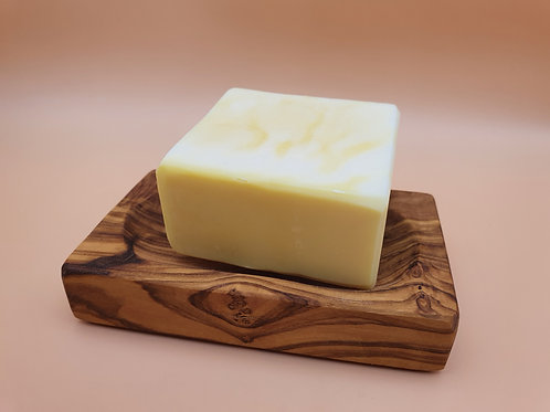 Wooden Rectangle Soap Dish, Olive