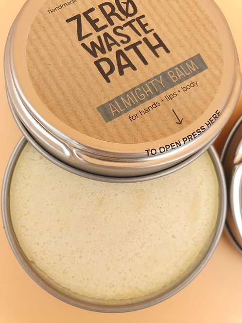 Almighty Hands. Lips and Body Balm, 40g - Zero Waste Path