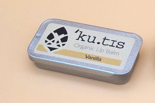Organic Vanilla Lip Balm, 8g - Kutis Skincare