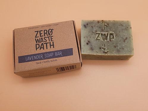 Lavender Soap, 100g -Zero Waste Path