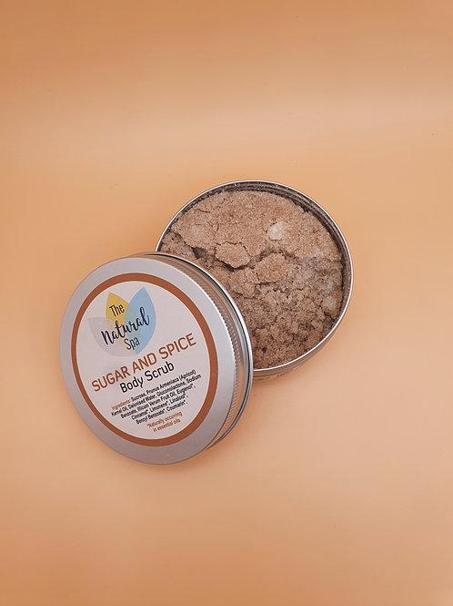 Sugar and Spice Body Scrub, 200g - The Natural Spa
