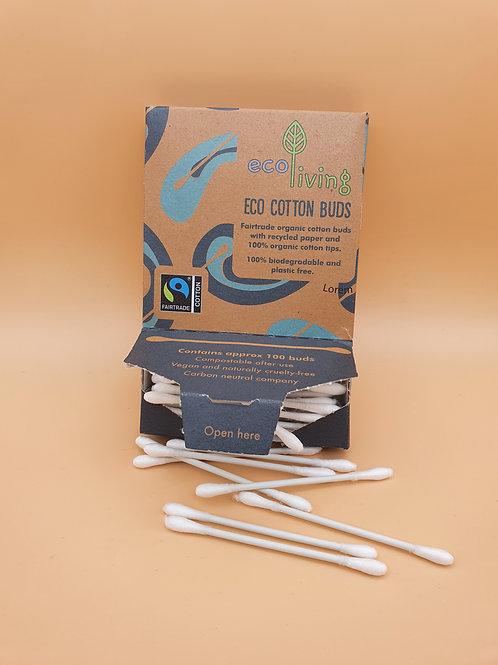 Organic Fairtrade Eco Cotton Buds