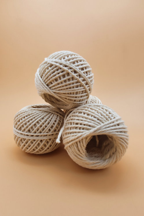 Recycled Natural Twine Ball