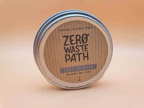 Chill Ya Balm - Hands, Lips and Body Balm, 40g - Zero Waste Path