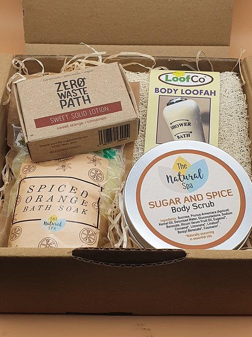 Spiced Orange Body & Bath Pamper Gift Set