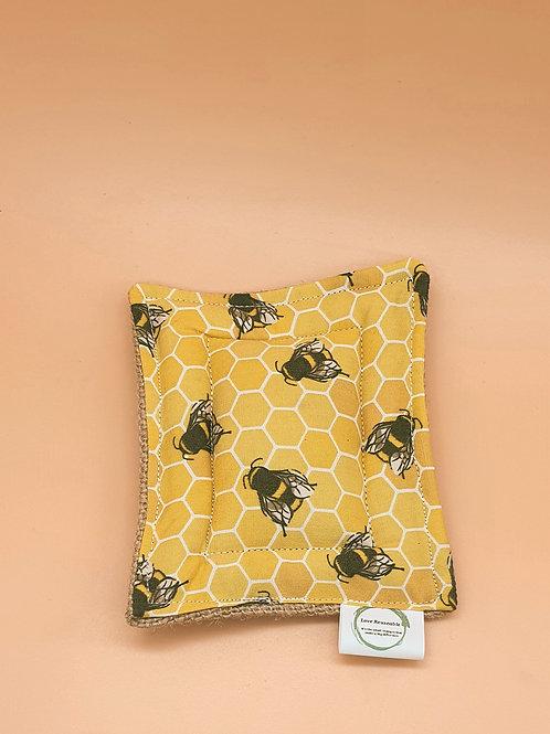 Bee Print Unsponge - Love Reusable