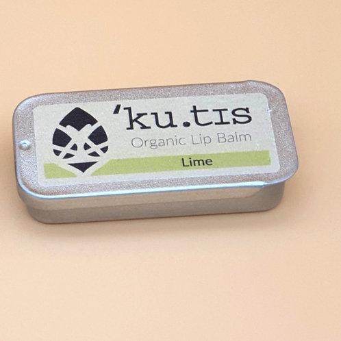 Organic Lime Lip Balm, 8g - Kutis Skincare