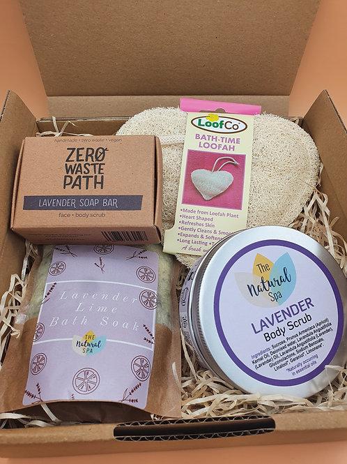 Lavender Lovers Bath & Body Set