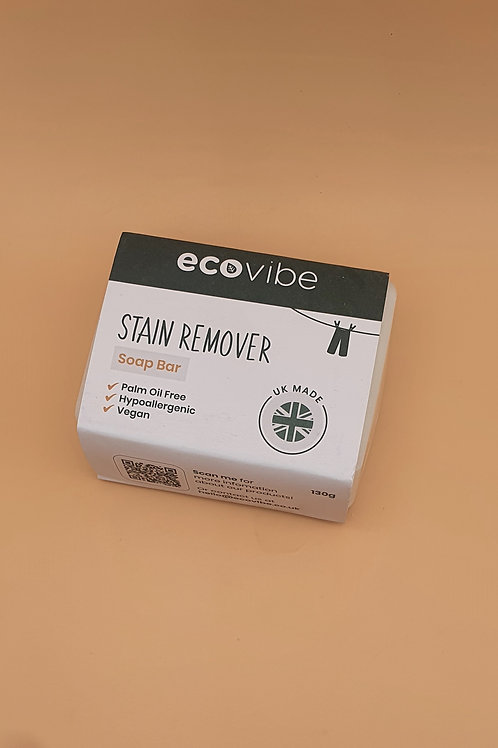 Laundry Stain Remover Bar, 130g - Ecovibe