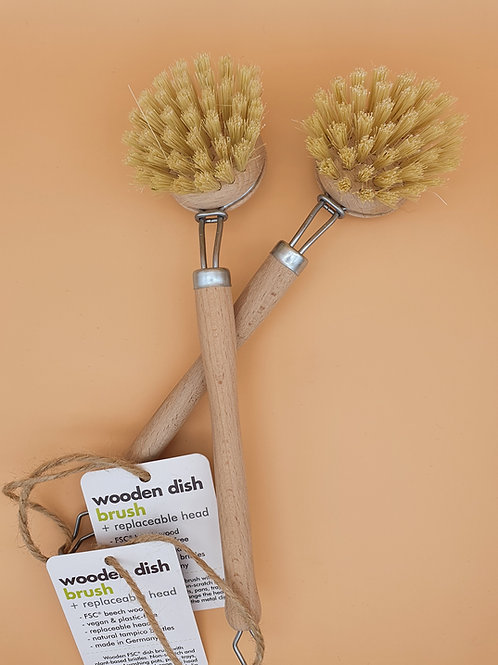 Wooden Dish Brush (FSC 100%) - ecoLiving