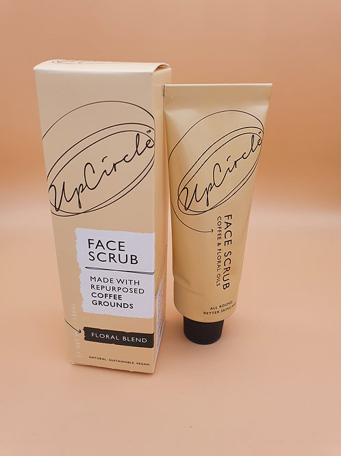 Floral Face Scrub for Sensitive Skin, 100ml - Upcircle