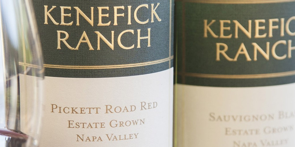 Kenefick Ranch Wine Dinner