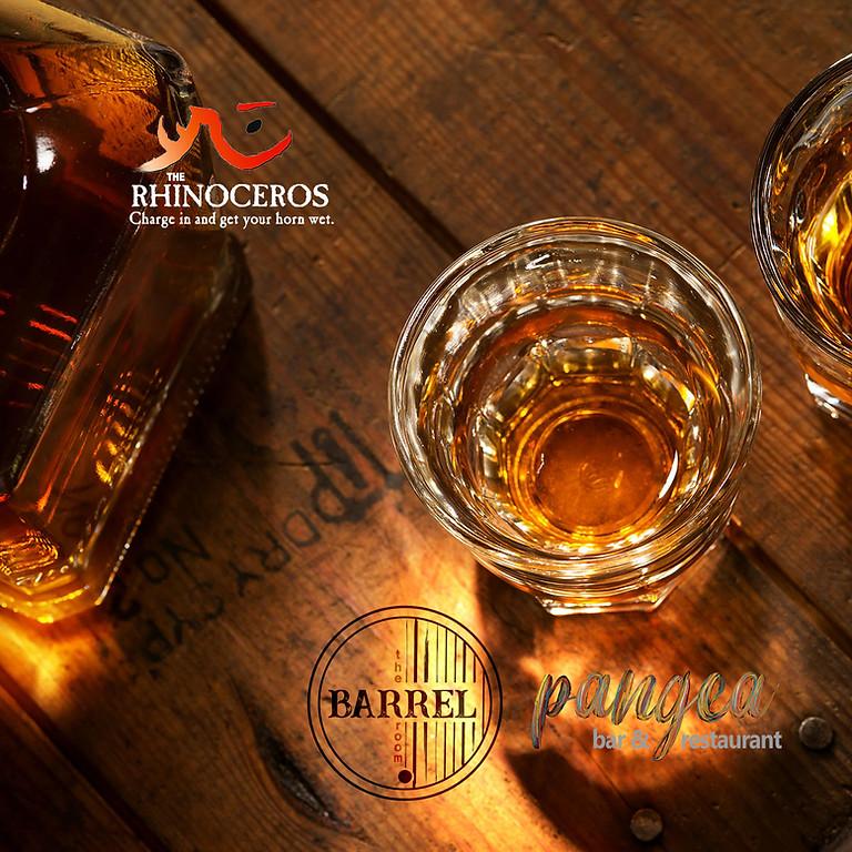 Rhino/Pangea Whiskey Tasting