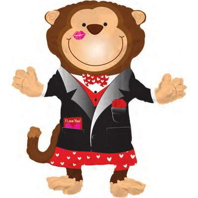Valentines Love Monkey