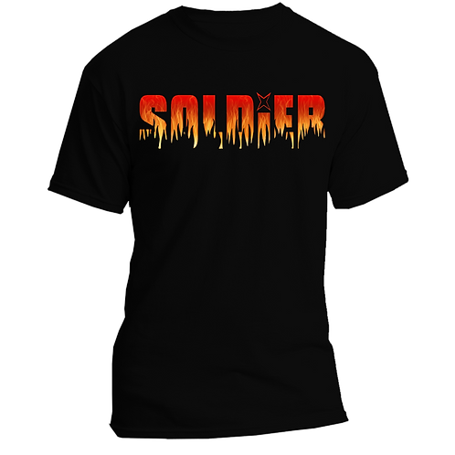 SOLDIER logo quality cotton T-shirt