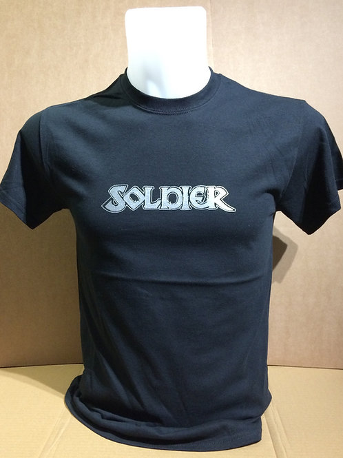 SOLDIER old style logo quality cotton T-shirt